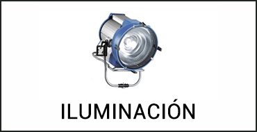 Alquiler iluminación de cine digital en Islas Baleares
