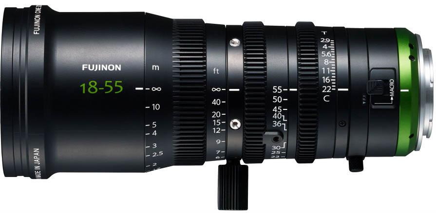 Alquiler Zoom Fujinon 18-55mm T2.9 MK Madrid