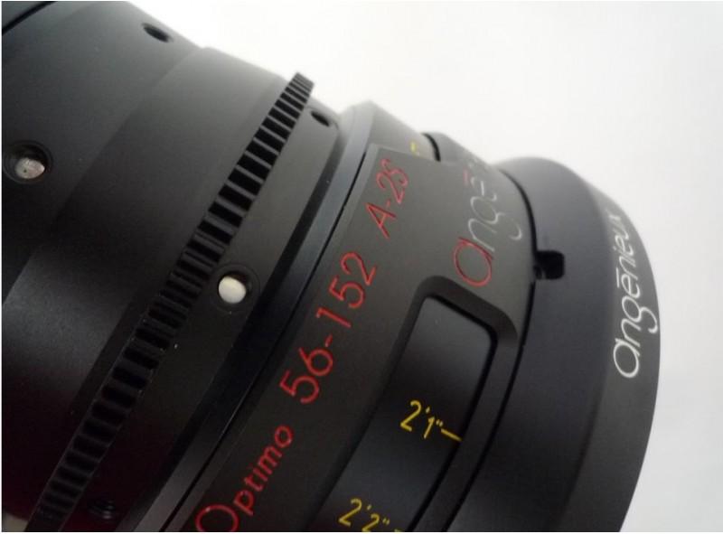 Alquiler Ópticas Angenieux Anamorfico 56-152mm T4 | Camaleón Rental