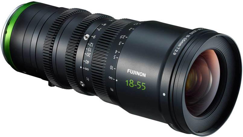 Alquiler Zoom Fujinon MK 18-55mm T2.9 Madrid