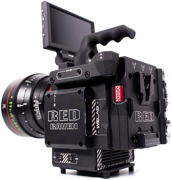 Alquiler RED RAVEN Camara 4.5K | Camaleon Cine Madrid