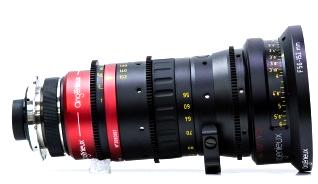 Alquiler Ópticas Angenieux 56-152mm Anamorfico T4