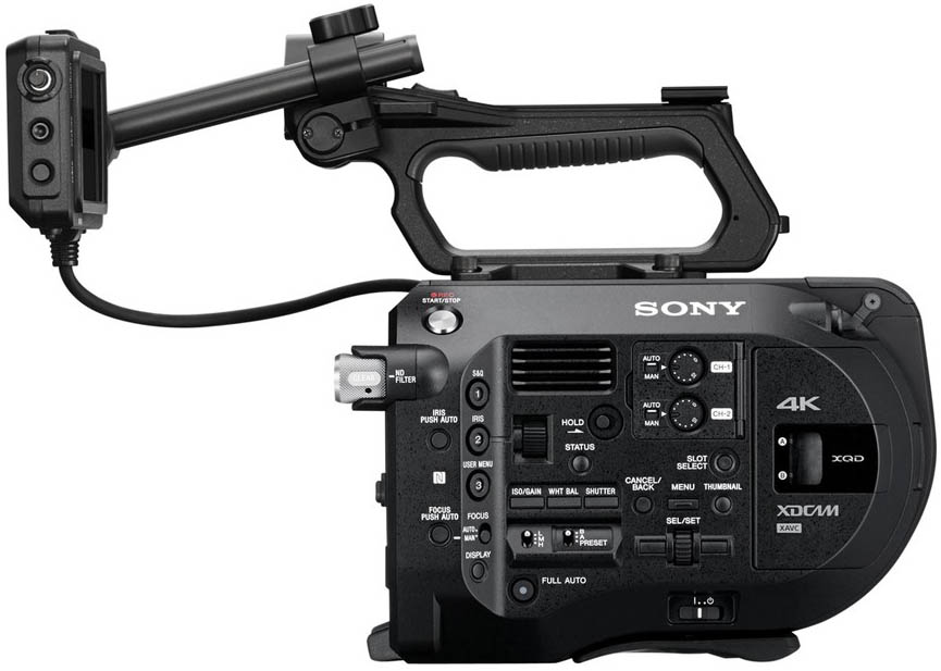 Alquiler Camara Sony FS7 con Canon CN-E T1.3 | Madrid
