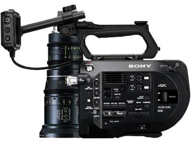 Alquiler Sony FS7 & Alura 15.5-45mm T2.8   Camaleon Rental