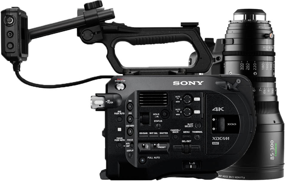 Alquiler Sony FS7 & Fujinon 85-300mm T2.9   Camaleon Rental