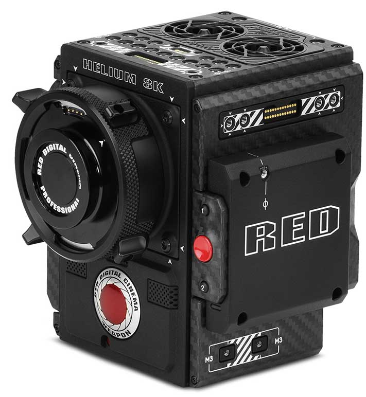 Camera RED Weapon Helium 8K for Rent | Spain