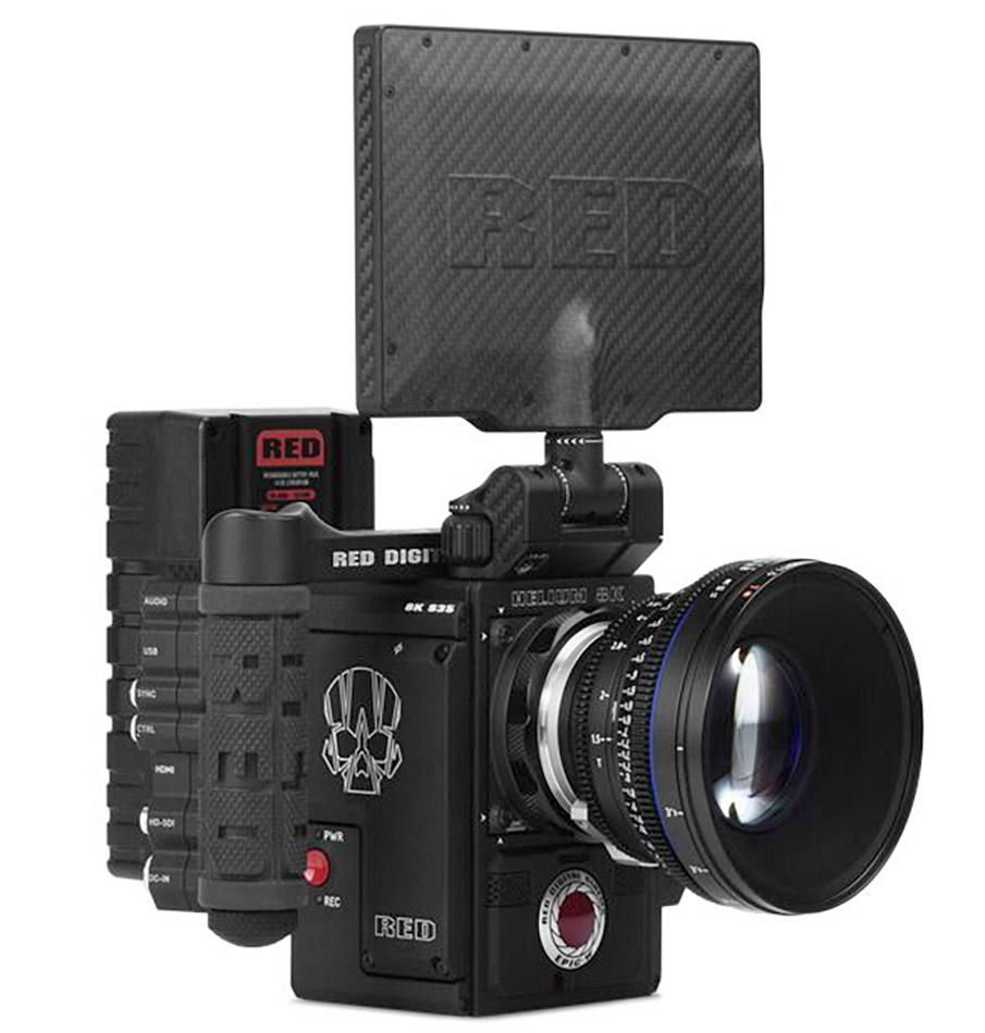 RED Camera Weapon 6K Hire Madrid