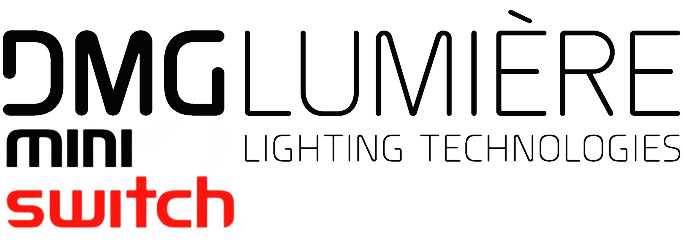 Alquiler Iluminacion LED DMG Mini Switch | Camaleon Rental