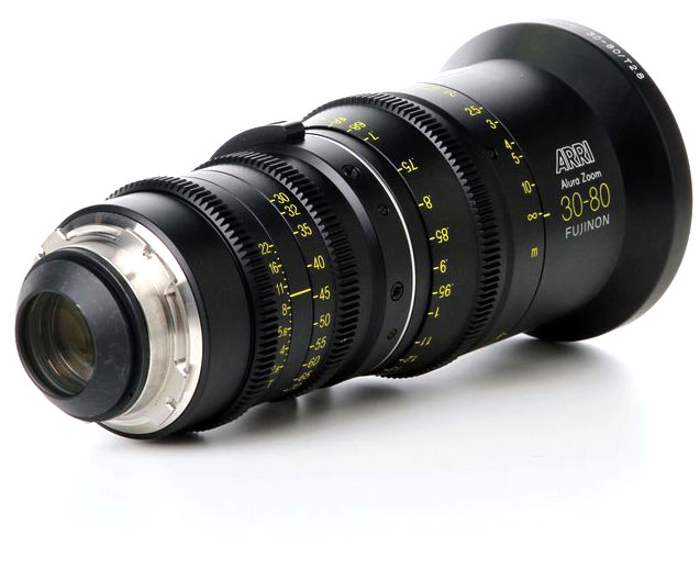 Alquiler Opticas Zoom Alura ARRI 30-80mm | Camaleon Rental