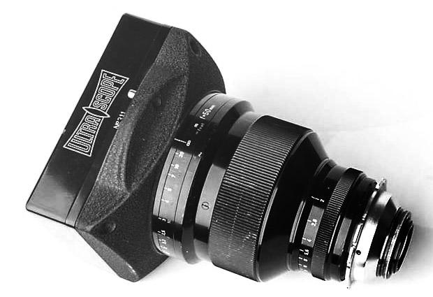 Alquiler Opticas Ultrascope con Alexa Mini Camara