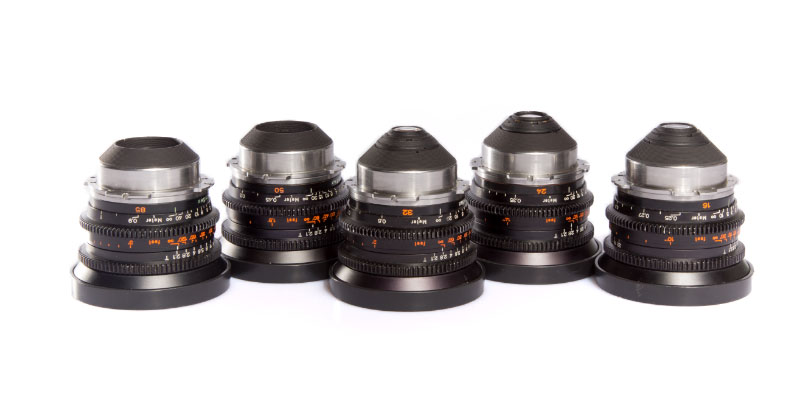 Alquiler Zeiss Standard Prime con Sony Camara FS7 | Sevilla