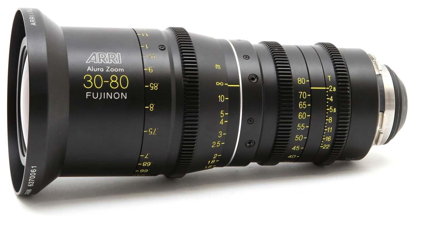 Alquiler Zoom ARRI Alura 30-80mm T2.8 | Camaleon Rental