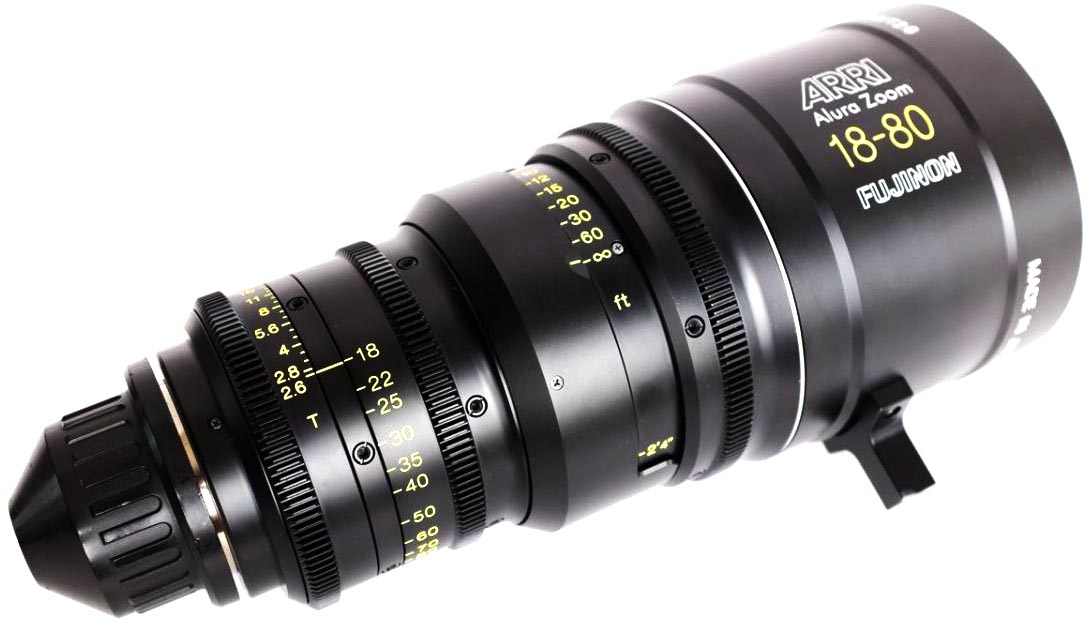 Alquiler Opticas Zoom ARRI Alura 18-80mm | Camaleon Rental