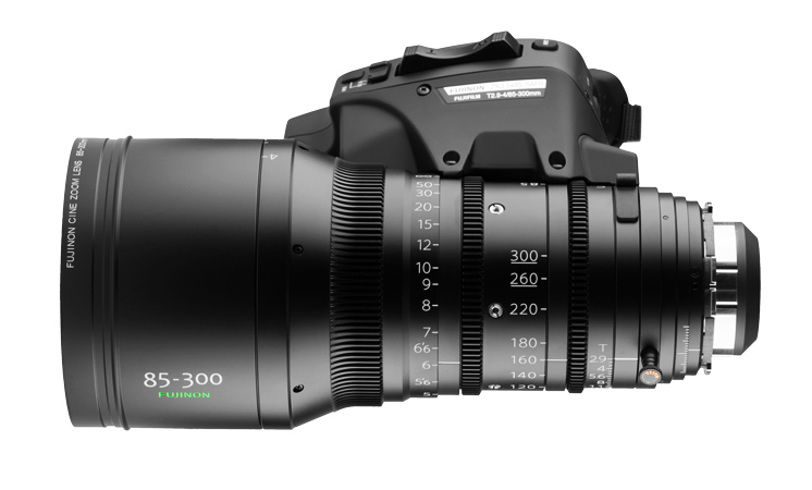 Alquiler Opticas Zoom Fujinon 85-300 T2.9 | Camaleon Rental