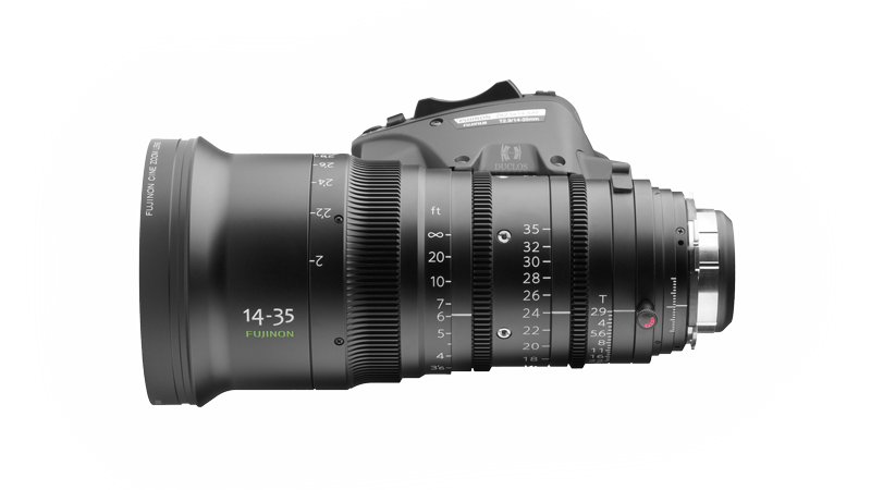 Alquiler Optica Zoom Fujinon 14-35mm  T2.9 | Camaleon Rental