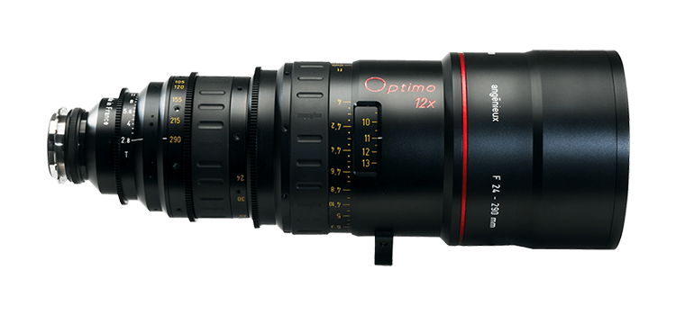 Alquiler Optica Zoom Angenieux Optimo con Alexa Mini