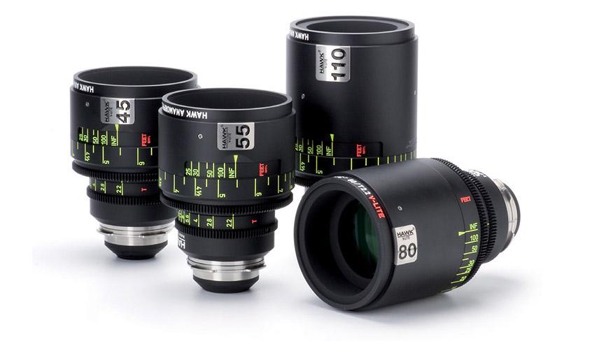 Alquiler Opticas Hawks V-Lite Anamorficas | Camaleon Rental