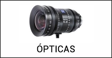 Alquiler ópticas de cine digital en Islas Baleares