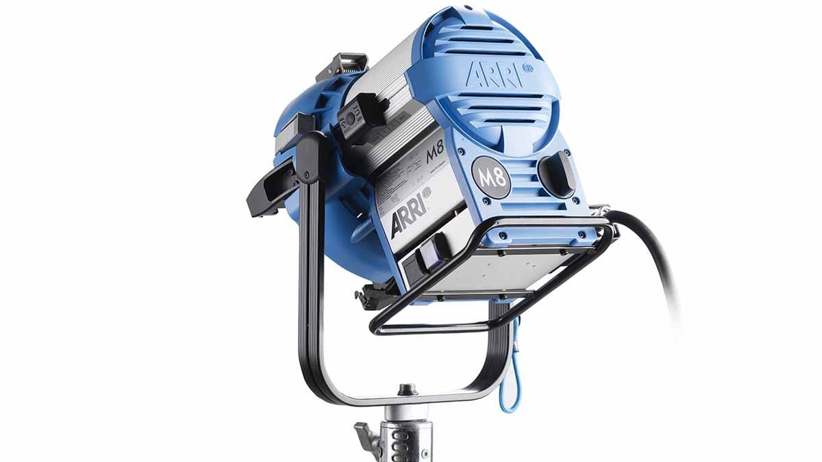 Alquiler Iluminacion Arri HMI M8 | Camaleon Rental