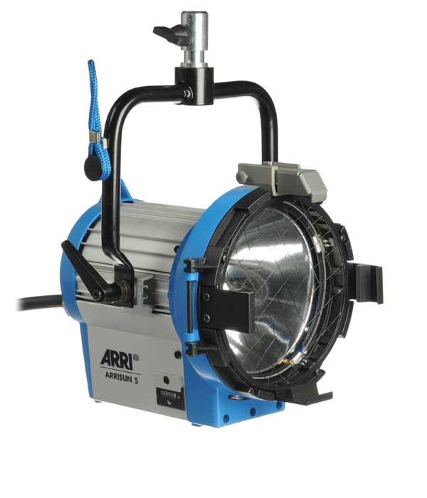 Alquiler Iluminacion Arri HMI PAR 575 | Camaleón Rental
