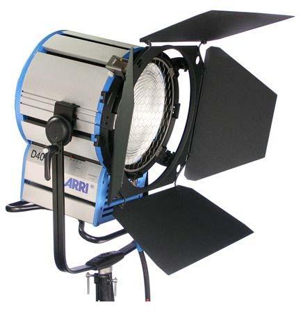 Alquiler Iluminación Arri HMI D40 | Camaleón Rental