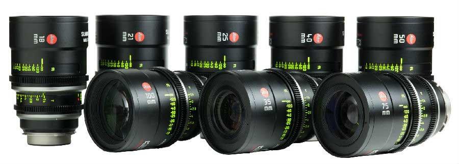Alquiler Opticas Leica Summilux-C T1.3 Madrid | Camaleón Rental