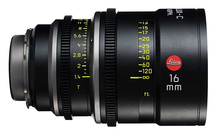 Alquiler ópticas Leica Summilux-C Madrid | Camaleón Rental