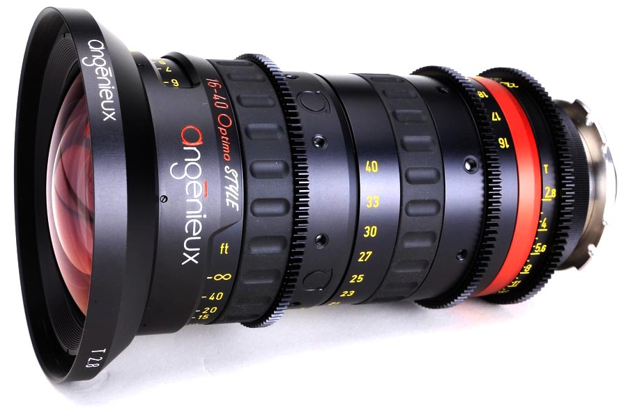 Alquiler Optica Zoom Angenieux 16-40mm | Camaleon Rental